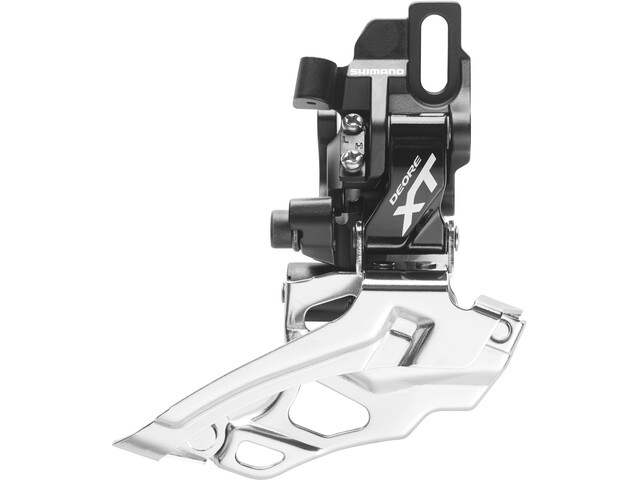 Shimano Deore XT FD-786 Forskifter 2-speed dual pull, black